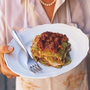 Lasagne Verdi al Forno (Baked Spinach Lasagne)