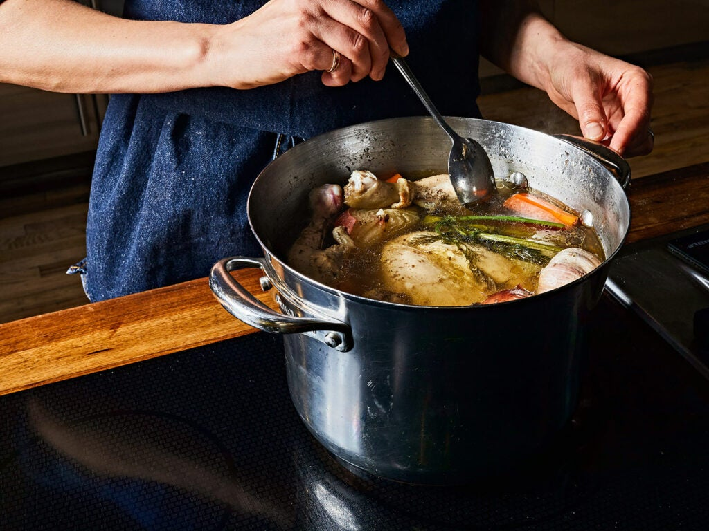 Soup in the Saveur Test Kitchen