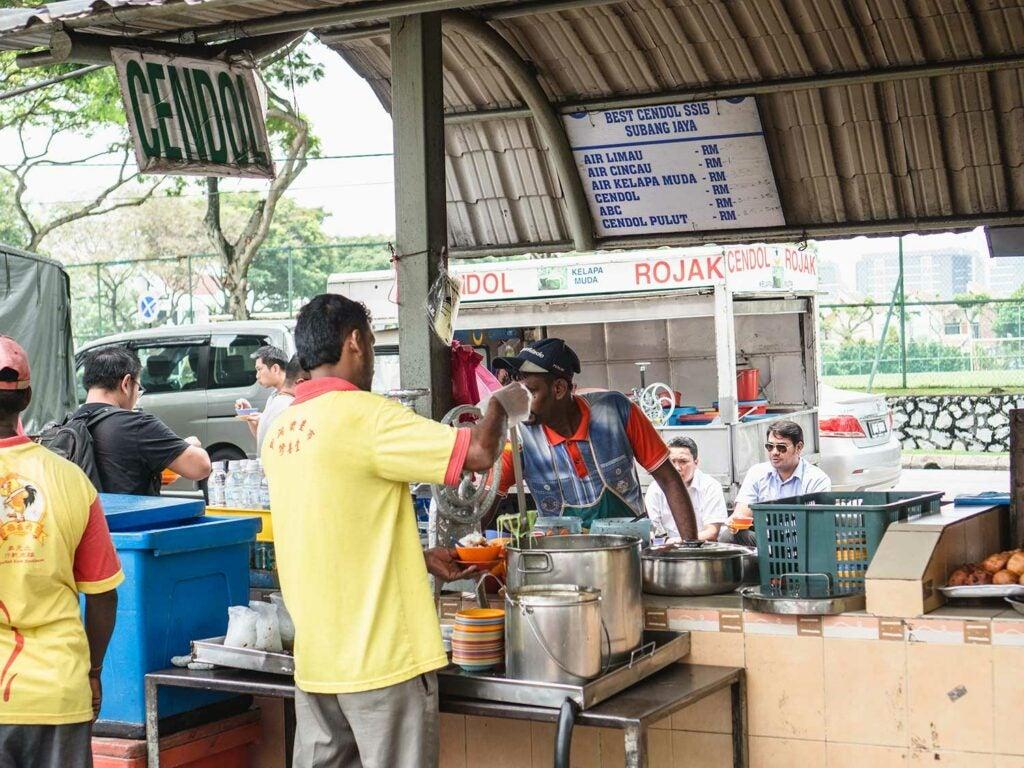 Cendol vendor Malaysia
