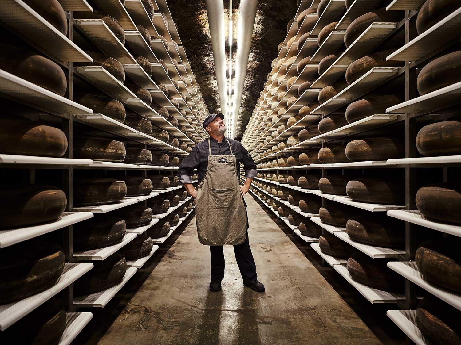 How a 22-Million-Year-Old Cave Became One of the World's Best Cheese Cellars