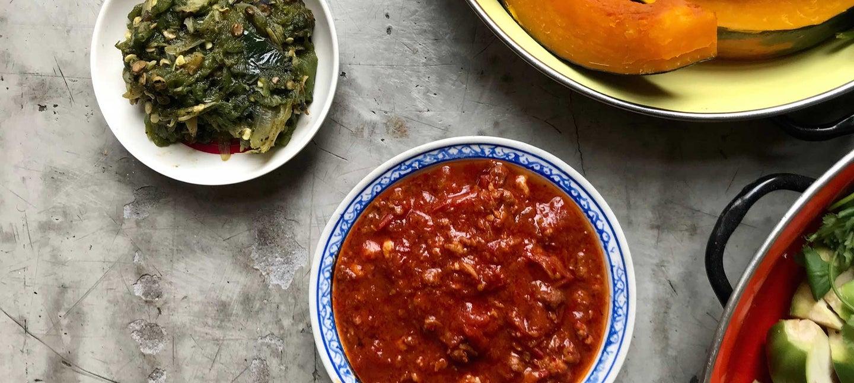 Spicy Thai Condiments