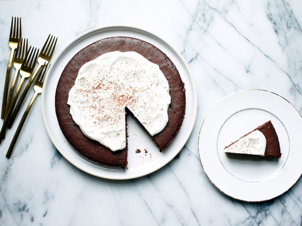 The Best Flourless Chocolate Cake