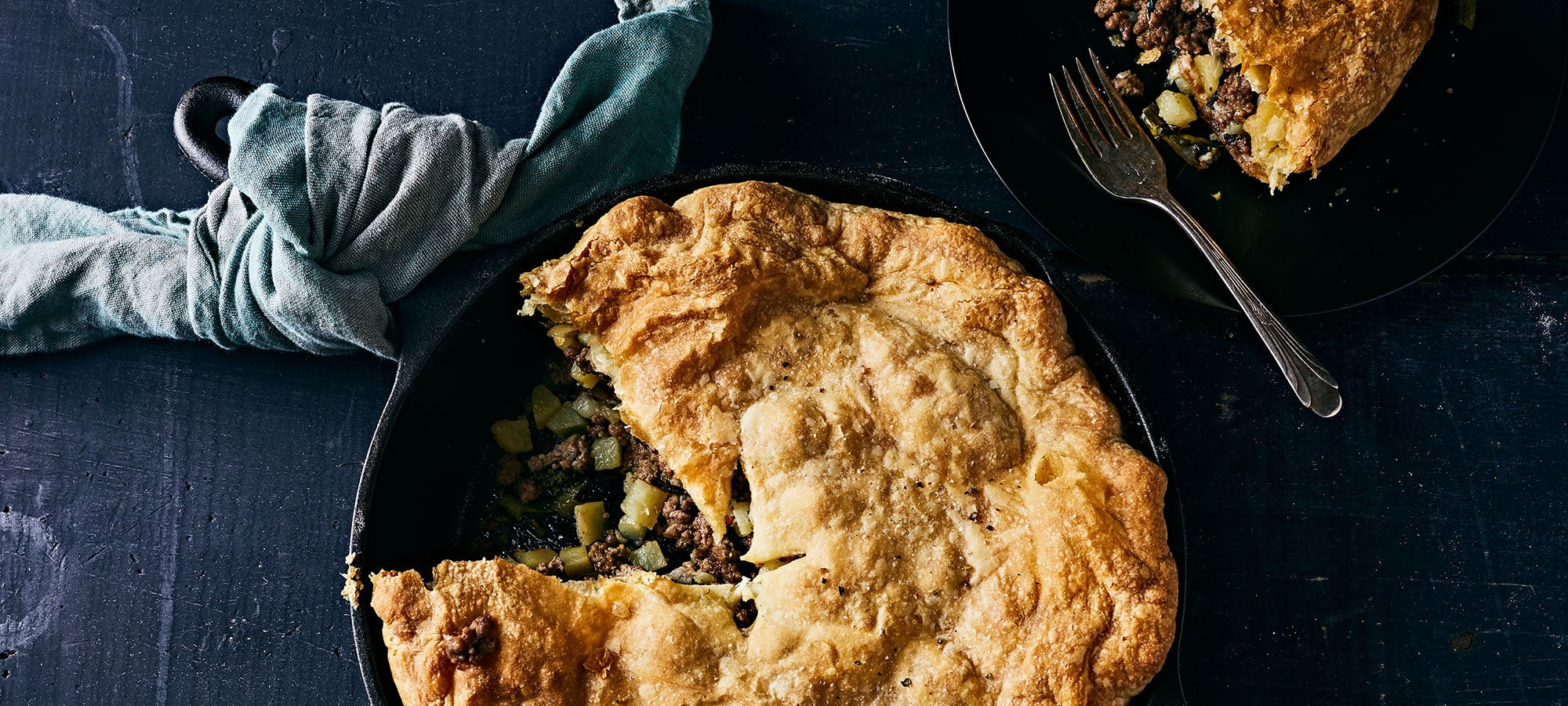 Pie Will Never Be the Same After This Ground Beef and Cheese Version