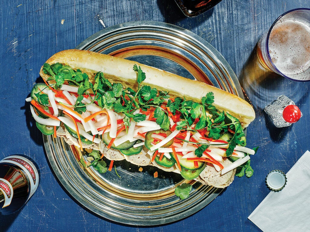 Classic Sausage and Pâté Banh Mi Sandwiches