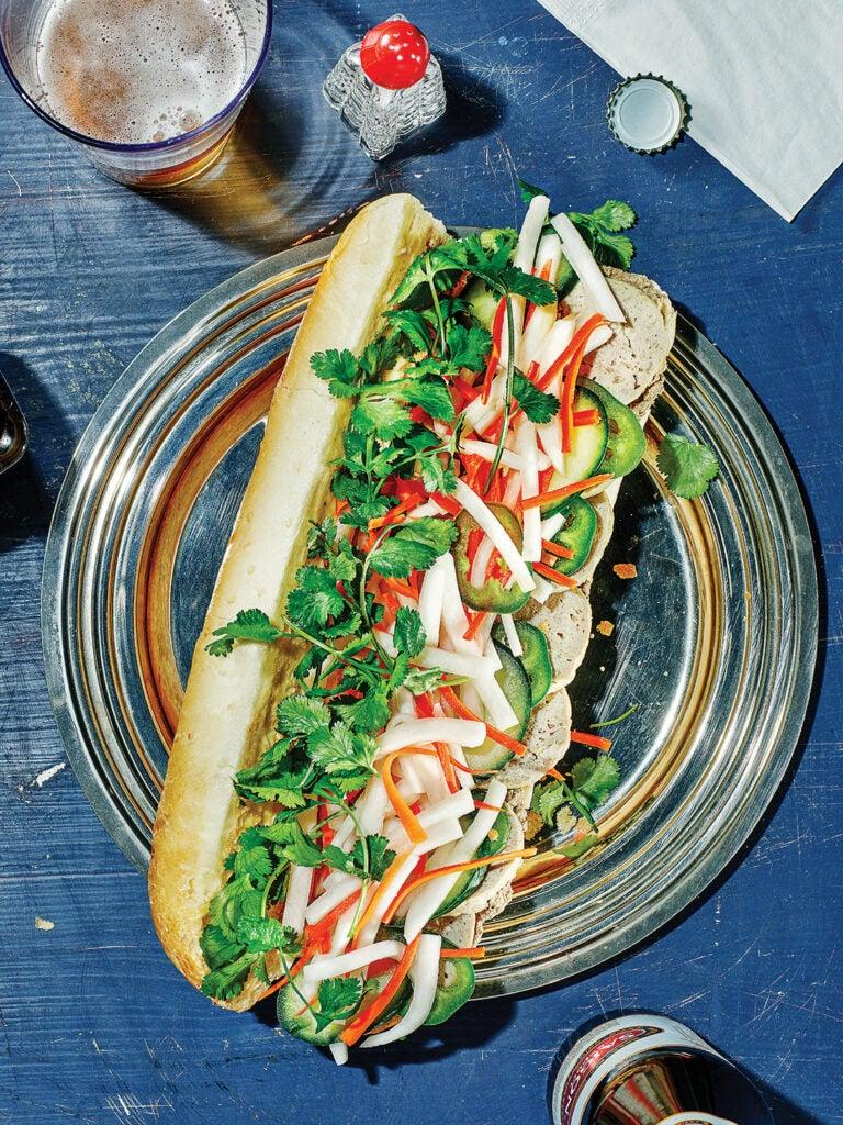 Classic Sausage and Pâté Banh Mi
