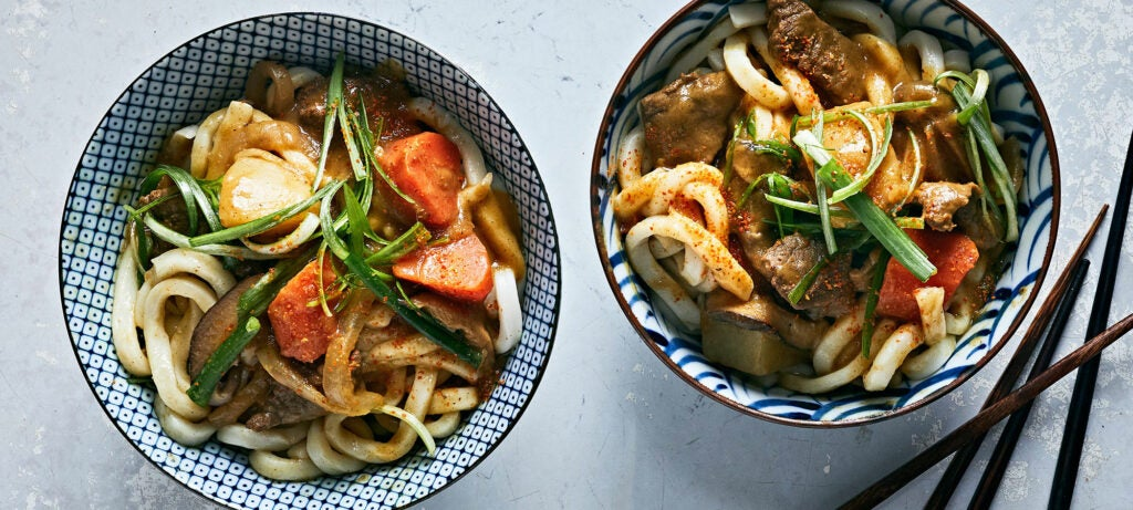 An Ultra-Comforting Bowl of Japanese Curry Noodles