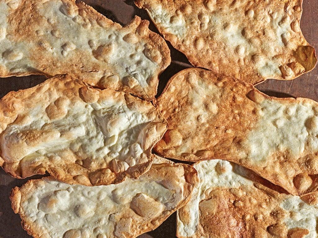 crispy sardinian flatbreads