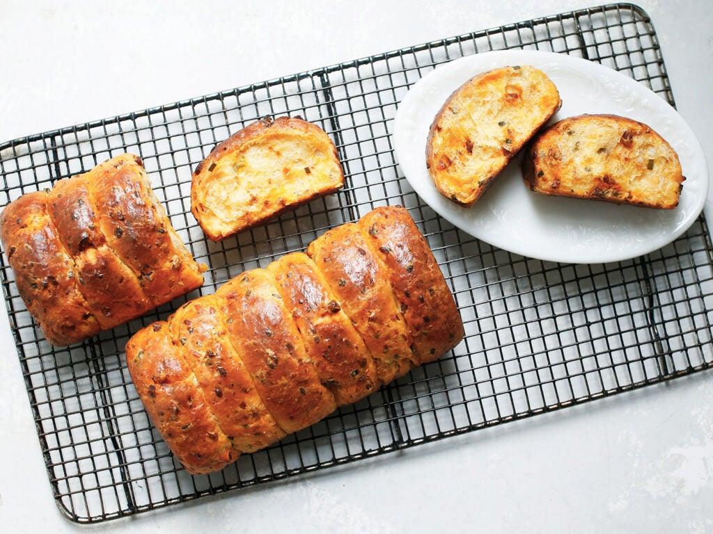 brioche pull apart bread
