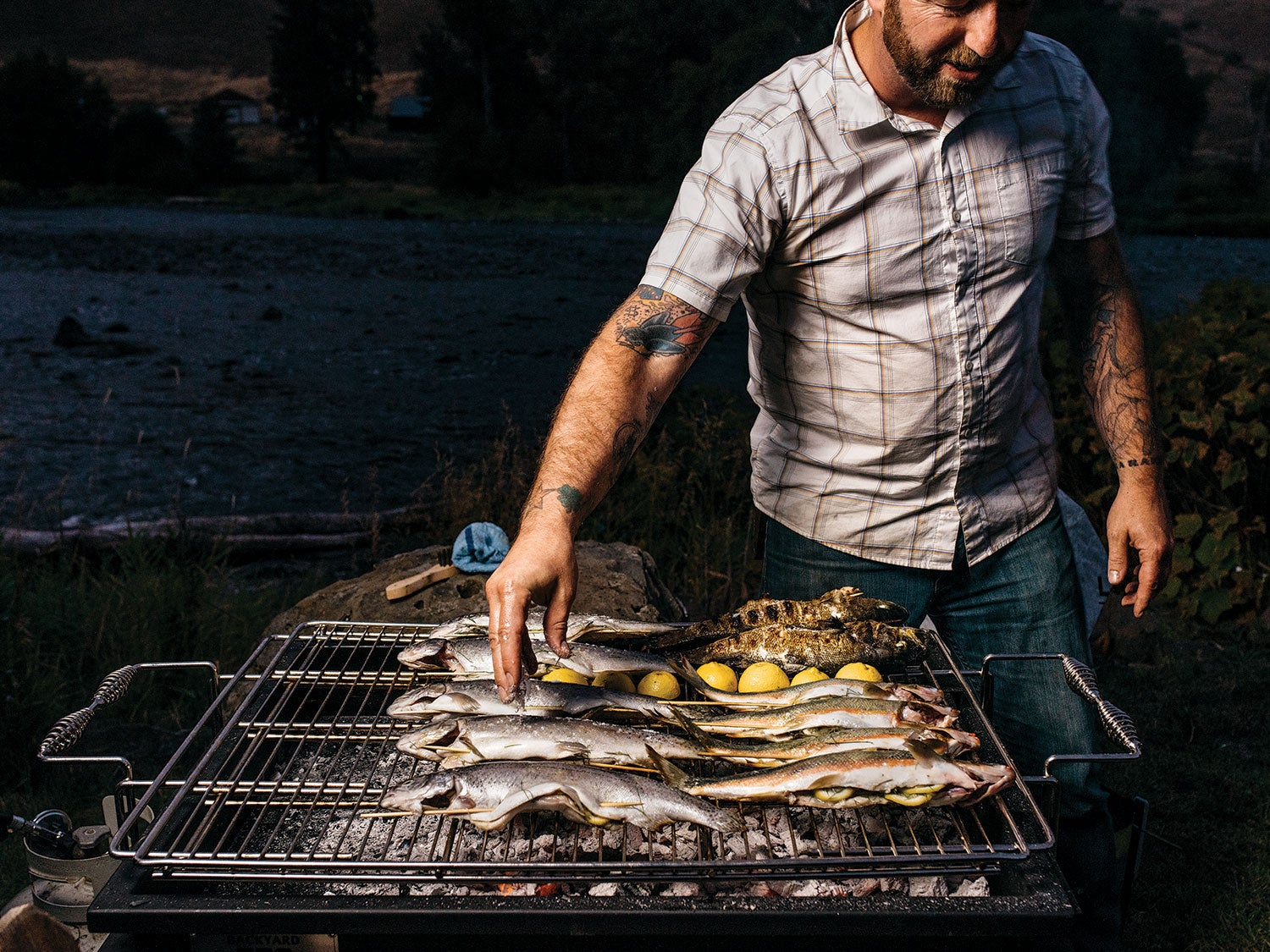 Portland Chef Elias Cairo Is as Serious About Fishing as He Is Eating