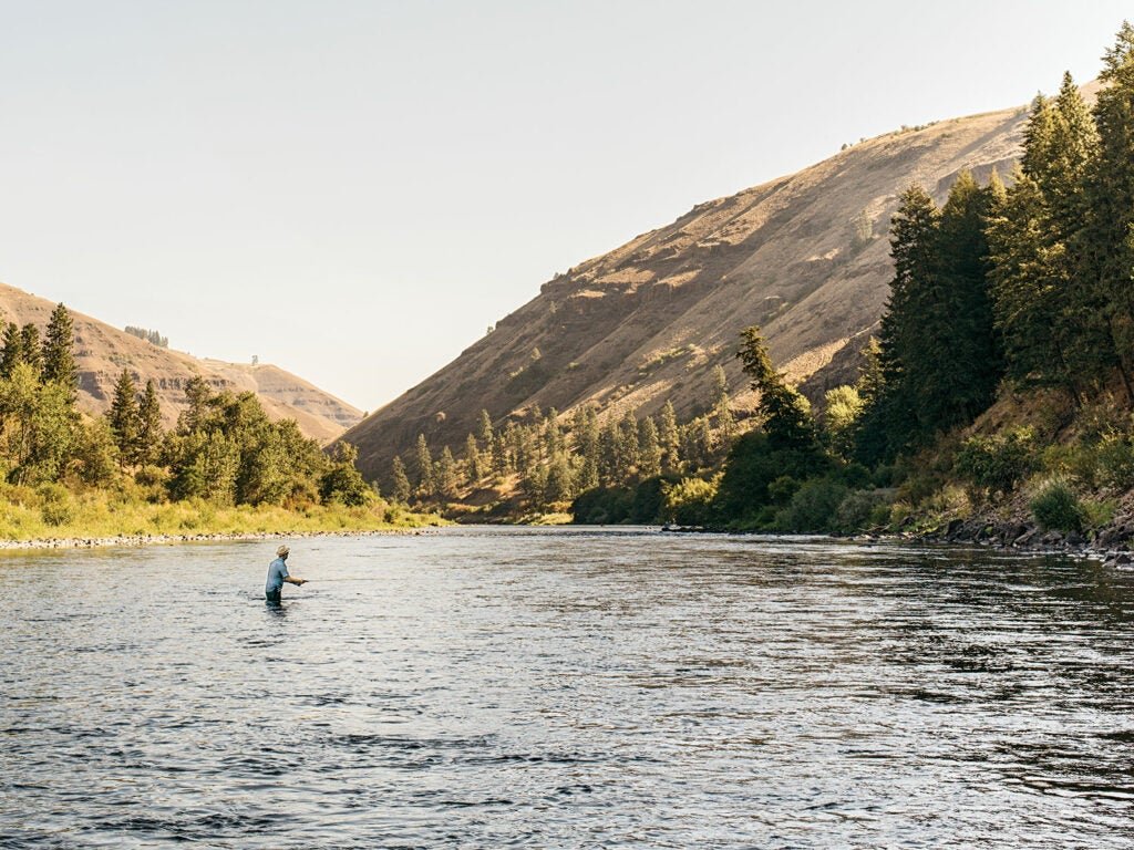 fishing in Portland Oregon