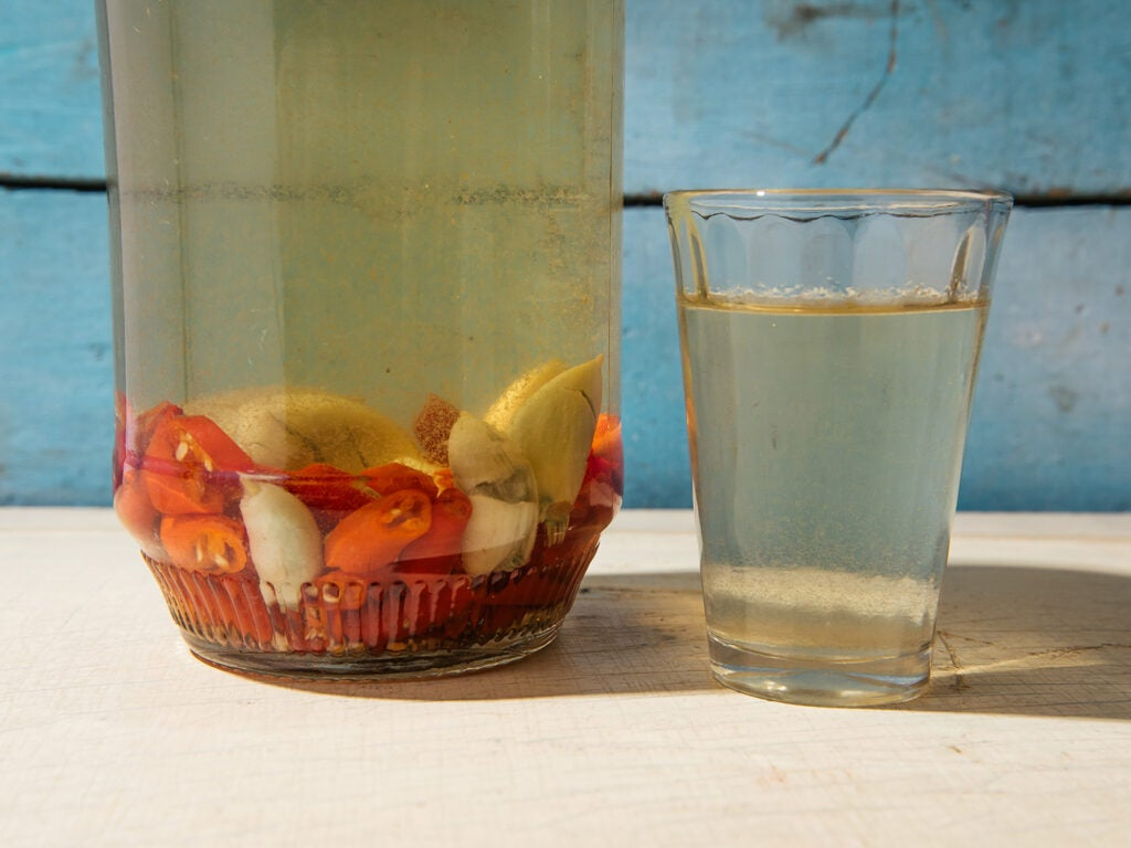Hawaiian chile water