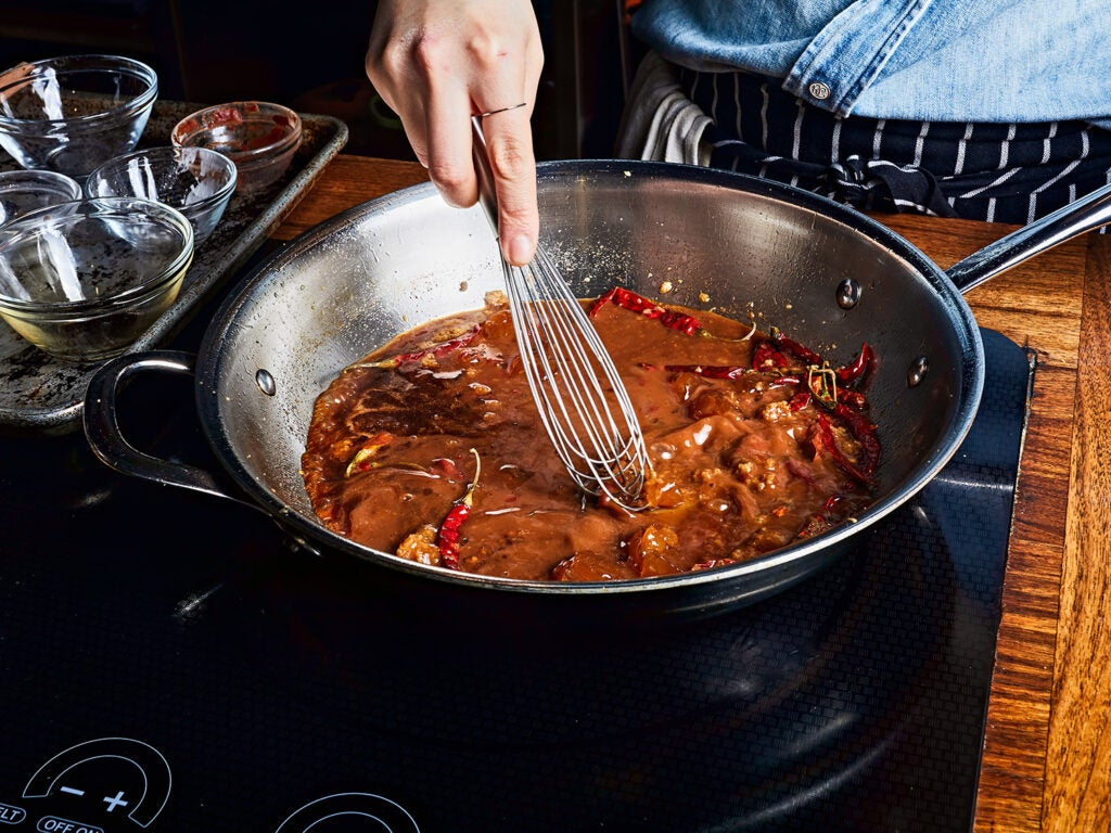 thickening general tso's sauce
