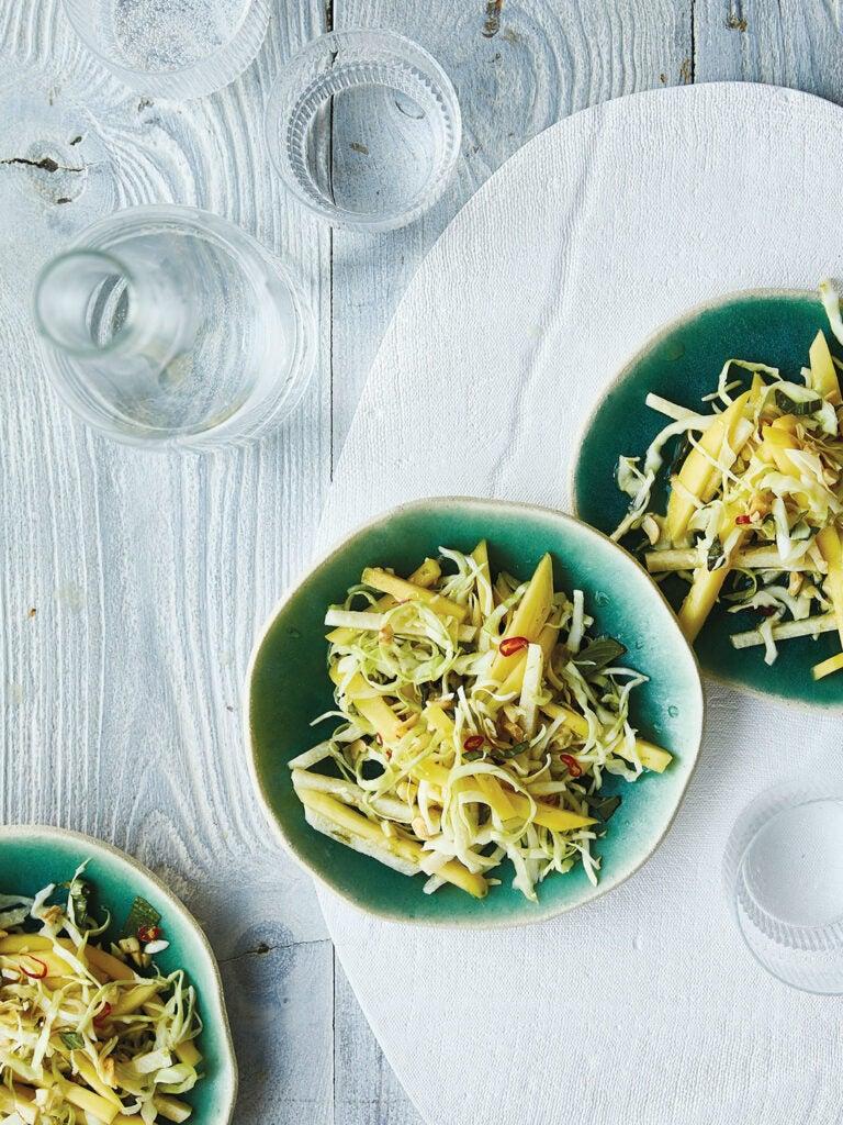 Green Mango, Cabbage, and Jicama Salad