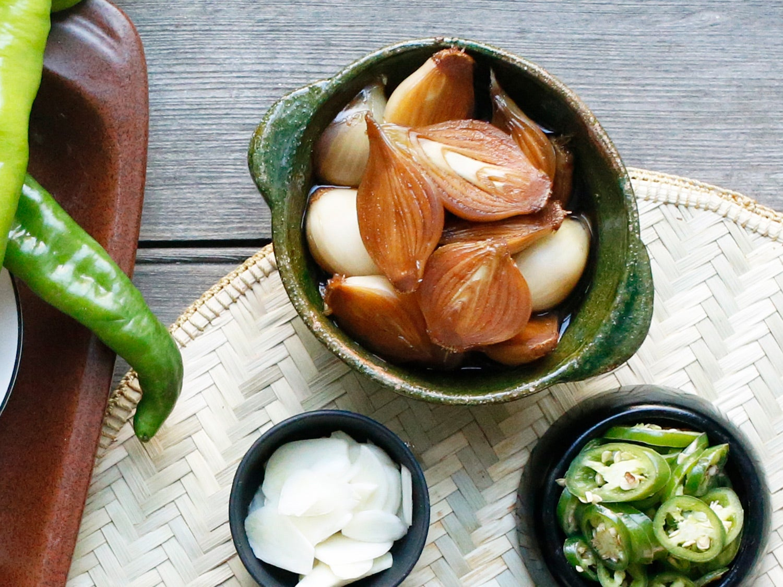 Soy-Pickled Pearl Onions (Yangpa Jangajji)