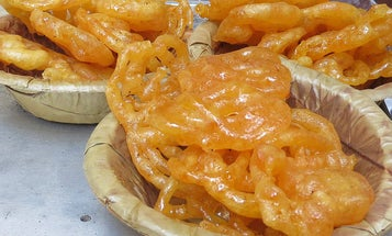 This Family Business Is Known for Making the Best Fried, Saffron-Soaked Jalebis