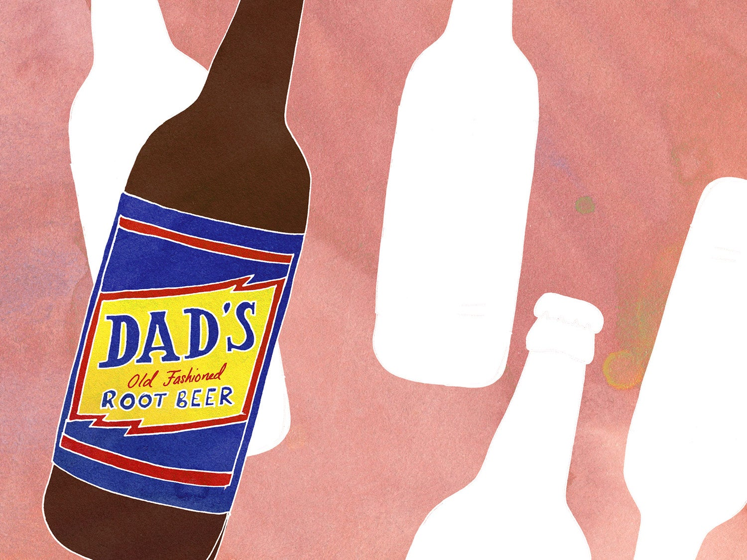 Dads Root Beer Soda