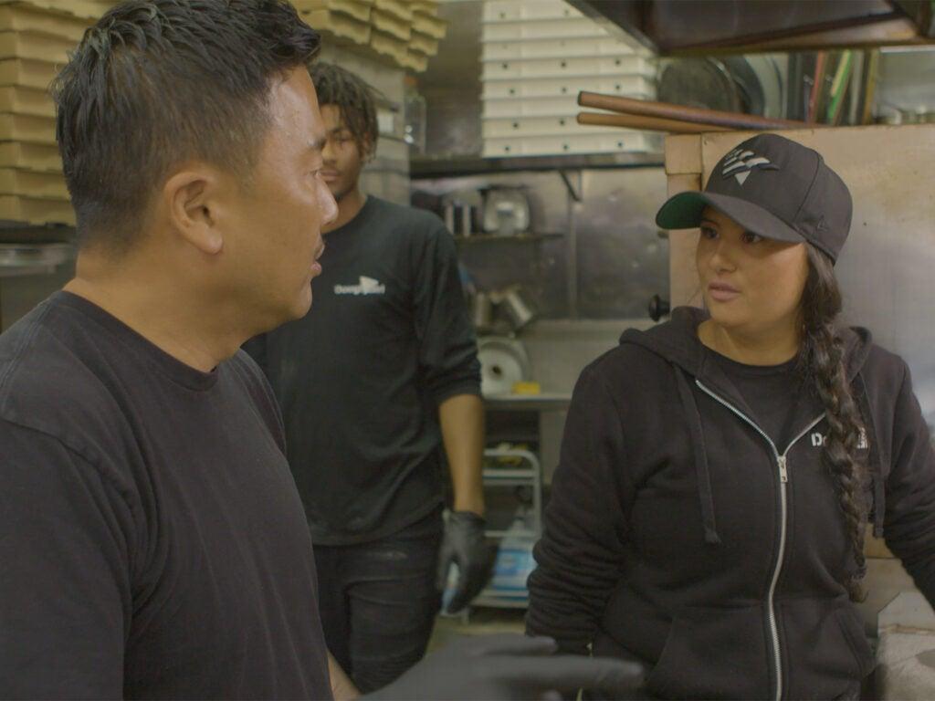 Choi and Mar Diego talking