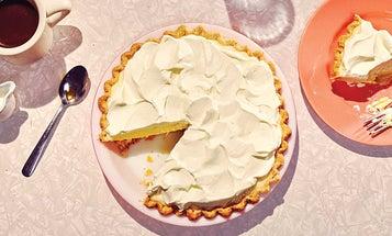 Lemon Chiffon Pie is Nostalgic and Delicious