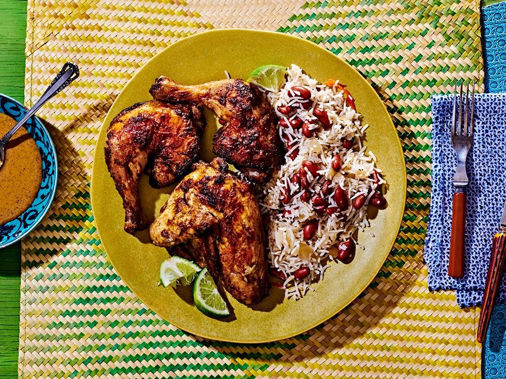 The Best Jamaican Jerk Chicken