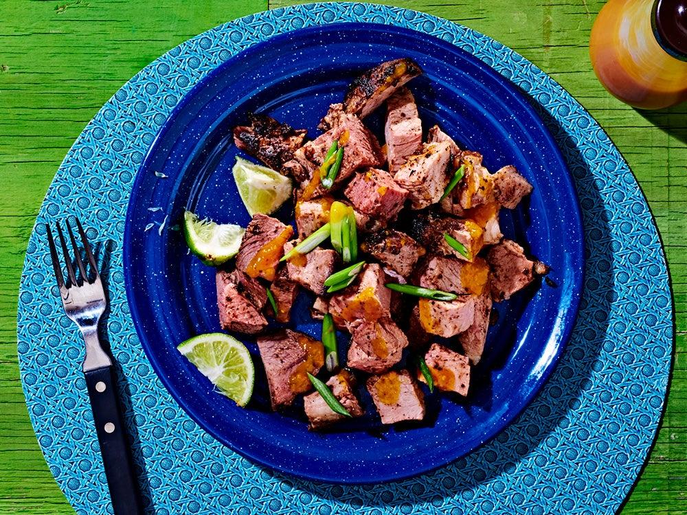 Jamaican Jerk Pork
