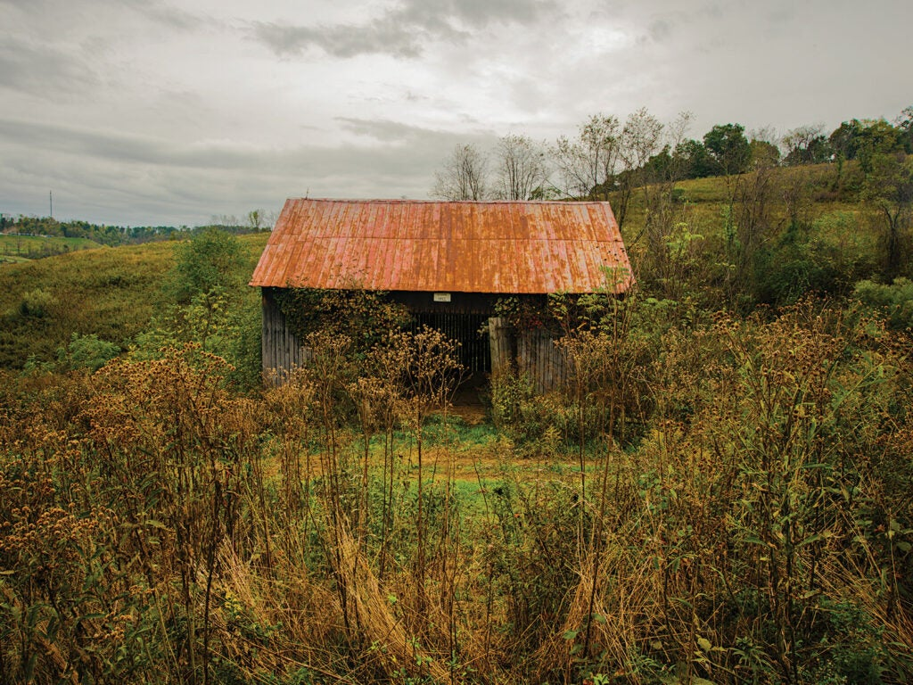 traditional Pennsylvania bank barn