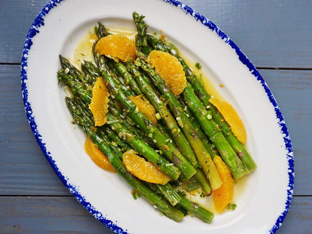 Asparagus with Citrus and Oregano