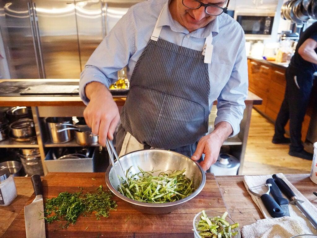 asparagus chef