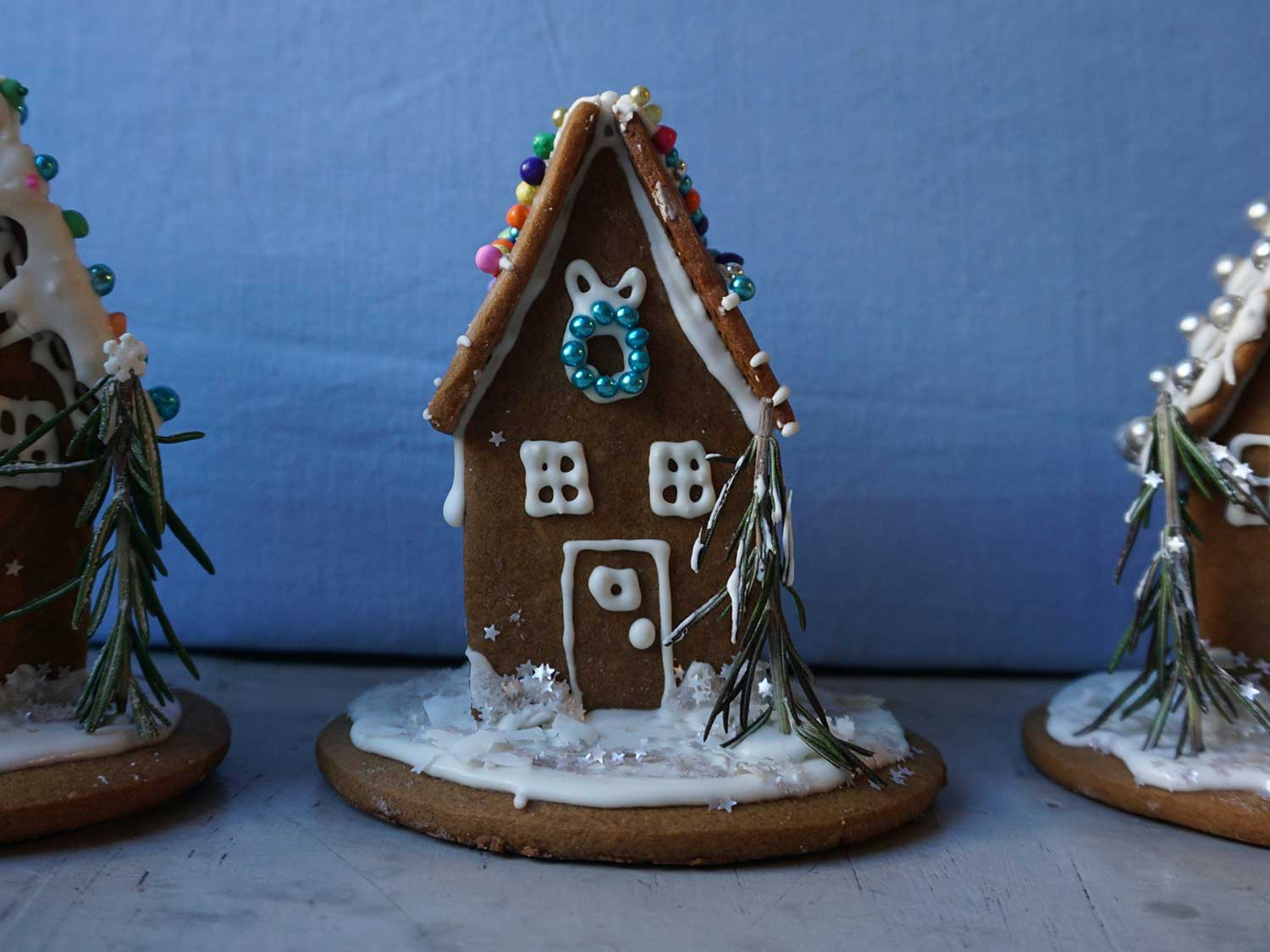 How to Build a Gingerbread House, From Dough to Decor
