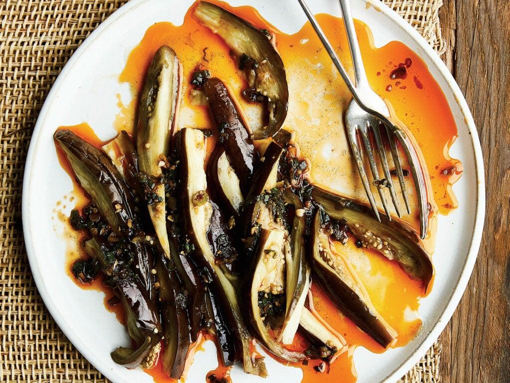 Vietnamese eggplant dish