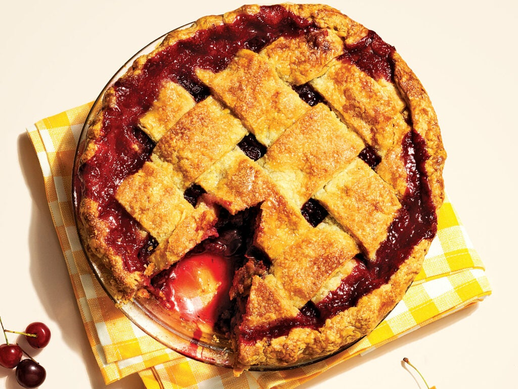 Sour Cherry Pie for 4th of July Recipes