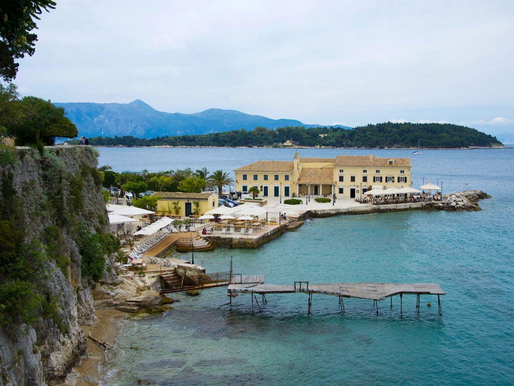 Corfu water view