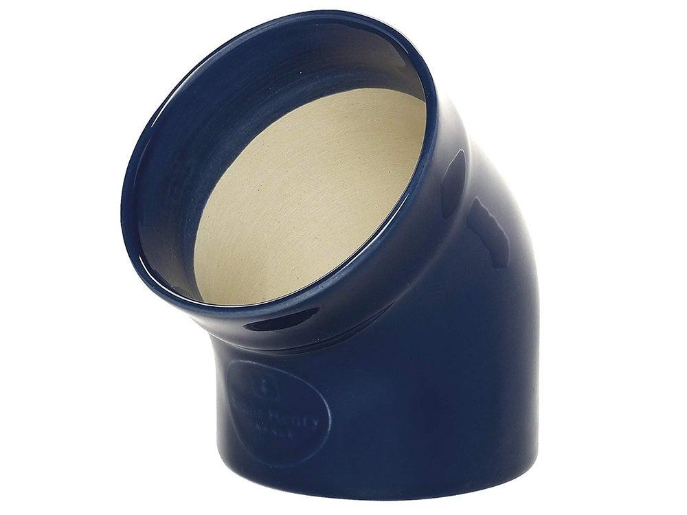 Emile Henry Made In France HR Modern Classics Salt Pig, Blue