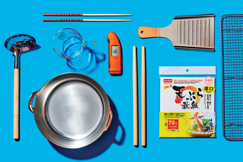 The 9 Kitchen Tools You Need to Master Japanese Tempura
