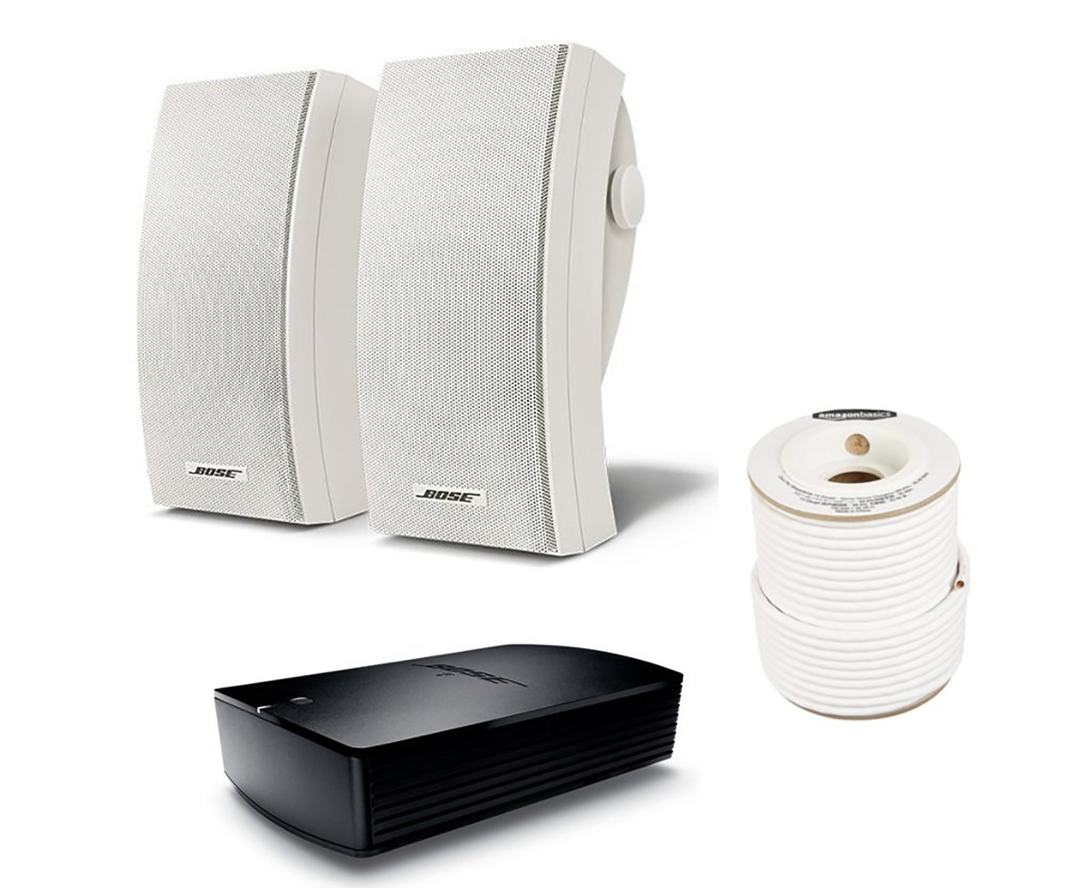 Bose Outdoor Speakers with Amp