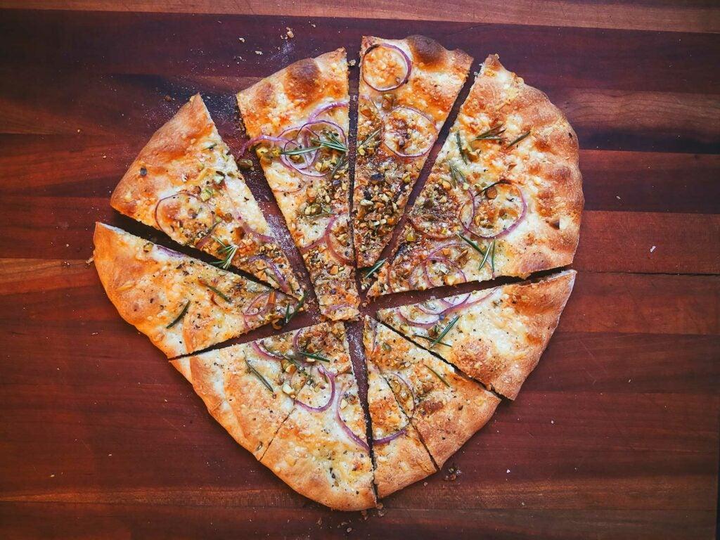 Pizza Rosa (Bianco)