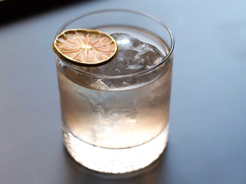 Grey Gusano Cocktail