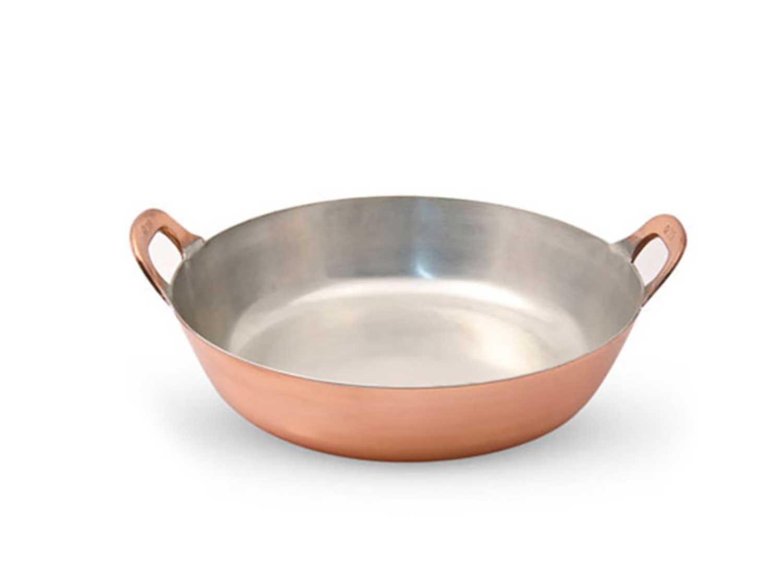 Copper Tempura Pot