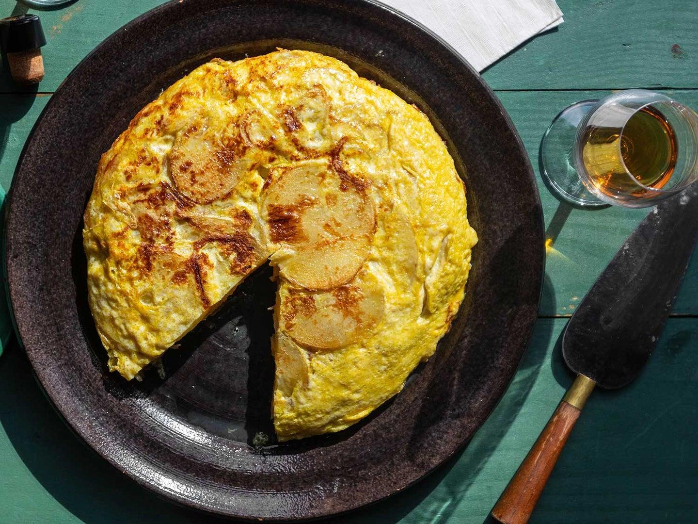 Spanish egg tortilla