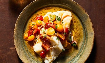 How to Make Easy Skillet Cod with Brown-Butter Tomato Sauce