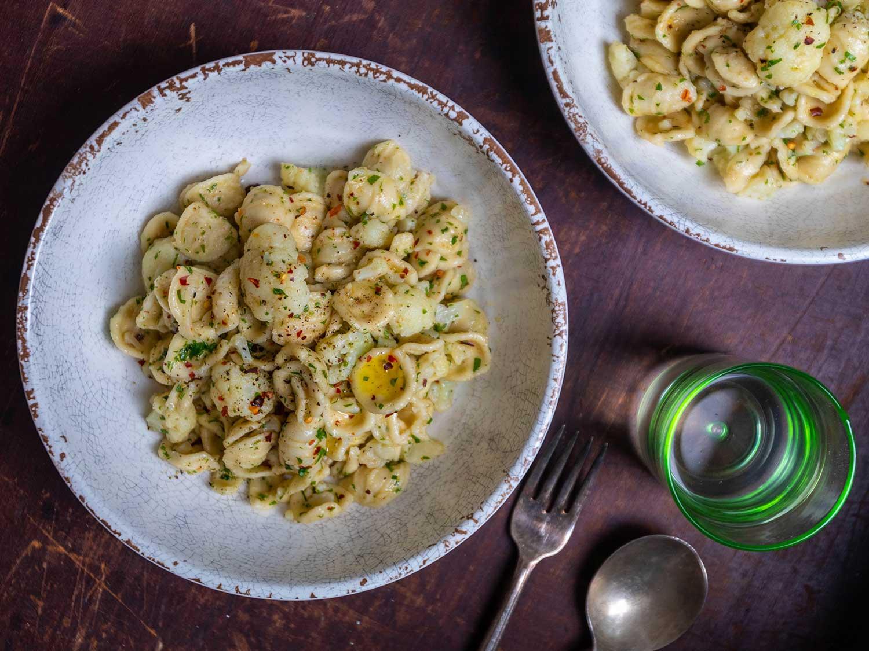 Orecchiette with Cauliflower