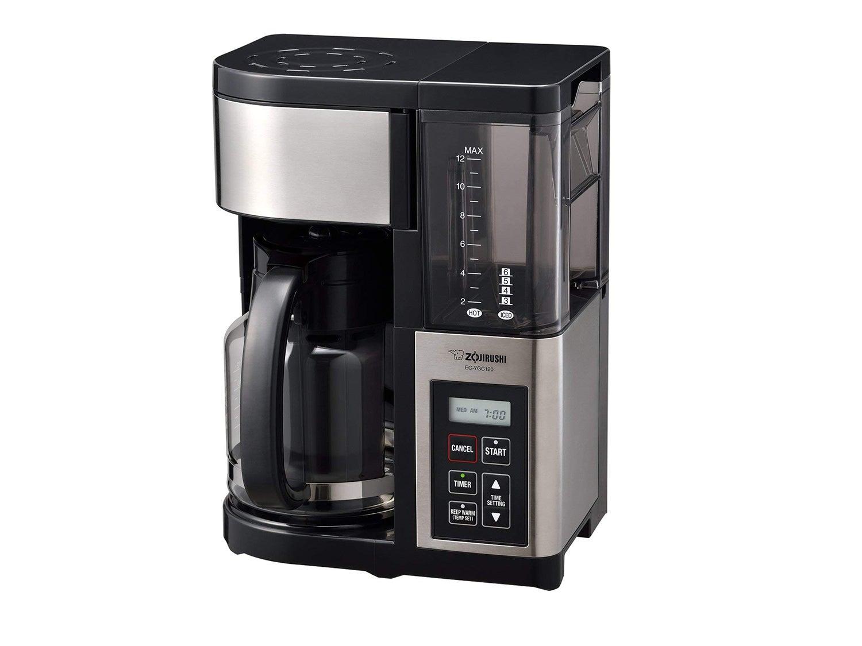 Zojirushi Fresh Brew Plus 12-Cup Coffee Maker, Stainless Black