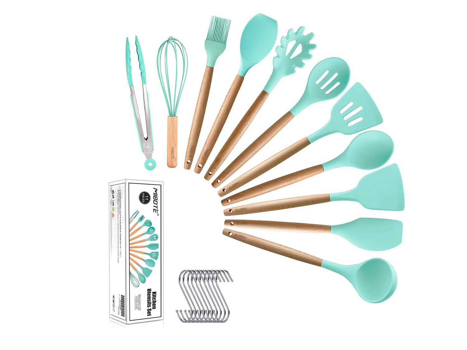 Silicone cooking utensils.