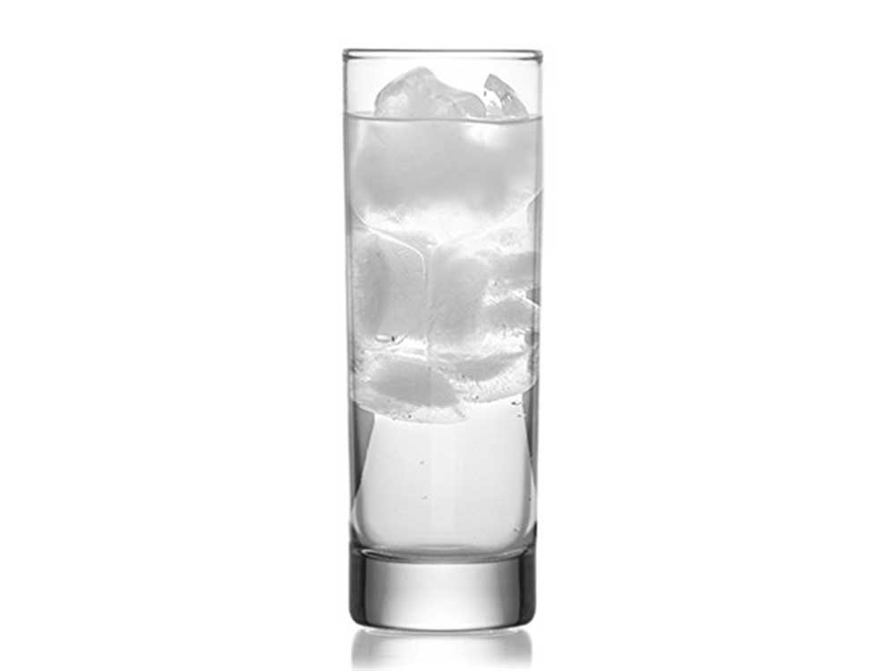 Collins Slim Water Beverage Glasses, 10 Ounce - Set of 6