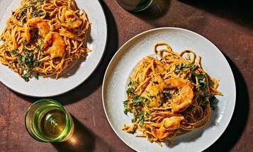 Run, Don't Walk, for This Pasta Inspired by Jamaican Rundown
