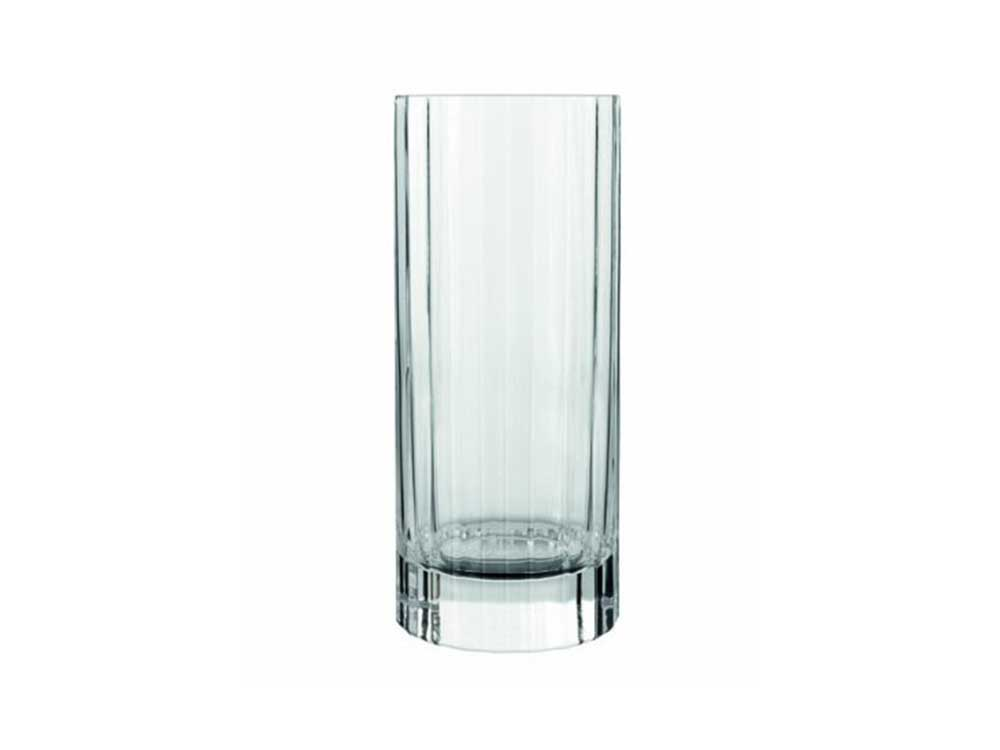 Luigi Bormioli Bach Crystal Tall Tumbler Glasses (set of 4)