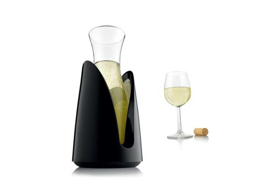 VacuVin Rapid Ice Wine Cooler Carafe