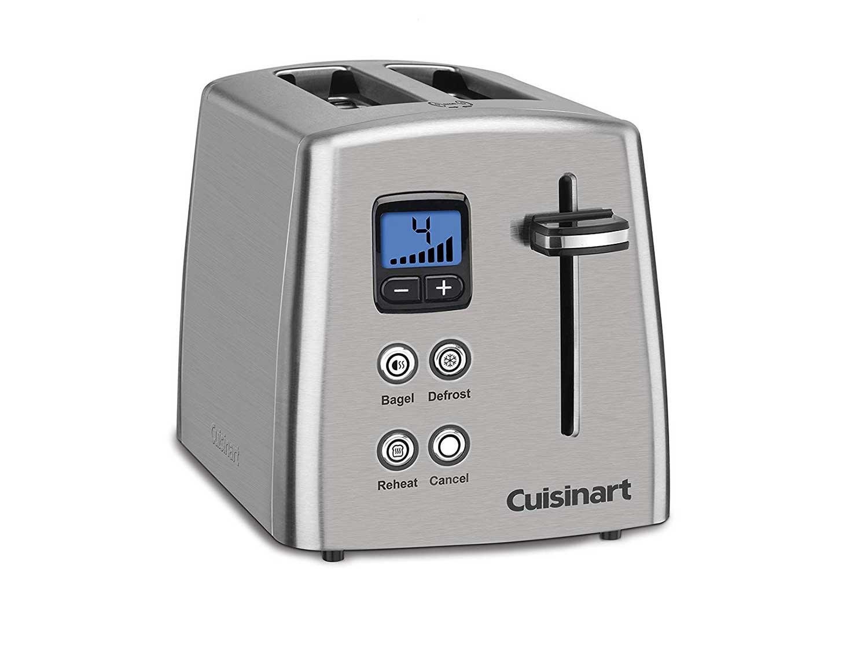 Cuisinart Countdown 2-Slice Stainless Steel Toaster