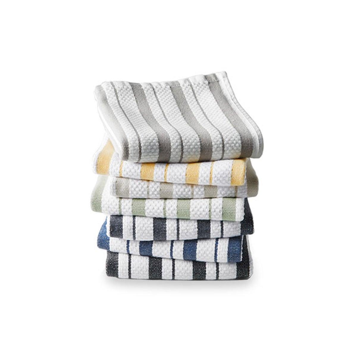 Best Kitchen Towels Option_ Williams Sonoma Classic Stripe Towels