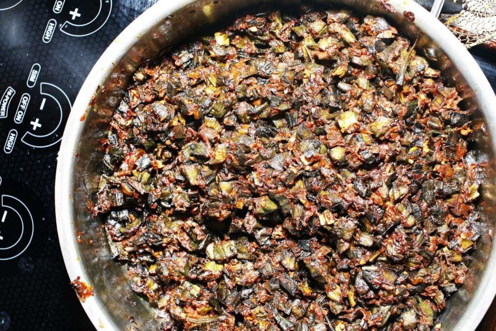 Chef Meherwan Irani's bhindi masala