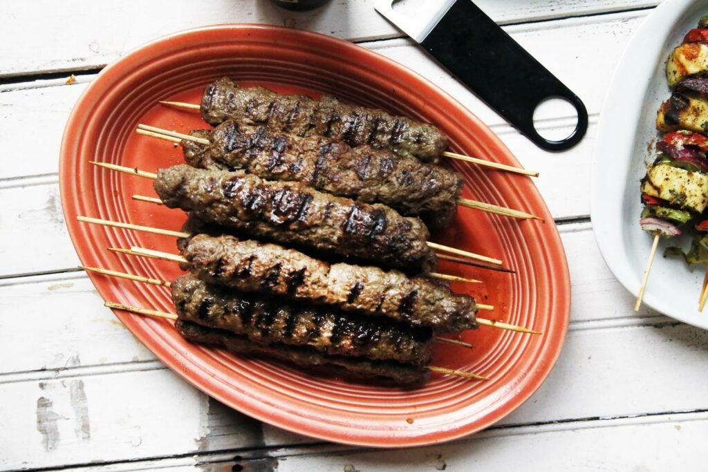 Lamb Seekh Kebabs